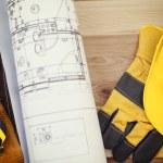 House blueprints — Stock Photo #43820833