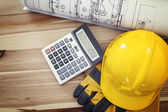 Workplace for construction worker — Stock Photo