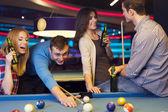 Young people in nightclub — Stock Photo