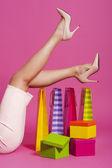 Woman legs — Stock Photo