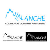 Avalanche logo — Stock Vector