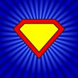 Super logo — Vettoriale Stock #36207285