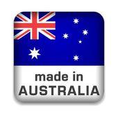 Made in Australia — Stock Vector