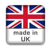 Made in UK — Stock Vector