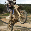La Vacada Track Day - Motocross — Stock Photo