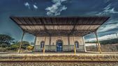Sao Mamede Railway Station — Stock Photo