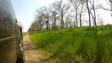 Dirt road — Stock Video