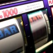 Real slot machine in action — Stock Video #22672343