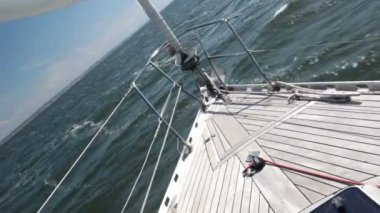 Staysail — Video Stock