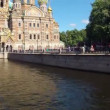 Saint-Petersburg. Church of the Savior on Blood. Timelapse — Stock Video #30949267