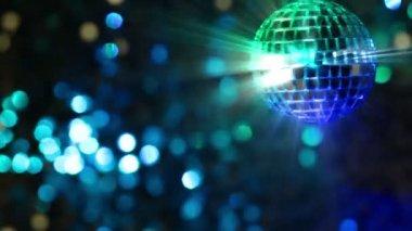Light Disco. Seamless loop — Stock Video