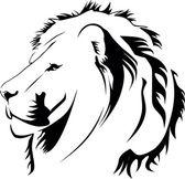 Lionhead Tribiales — Stock Vector