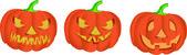 Halloween-Kürbis — Stock Vector