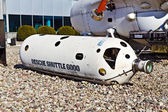"Rescue submersible vehicle ""Shuttle 6000"". The Museum of the World ocean. Kaliningrad (until 1946 Koenigsberg), Russia — Stock Photo"