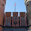 Friedrichsburg Gate - the old German Fort in the city of Koenigsberg. Kaliningrad (until 1946 Konigsberg), Russia — 图库照片