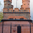 Friedrichsburg Gate - the old German Fort in the city of Koenigsberg. Kaliningrad (until 1946 Konigsberg), Russia — Stok fotoğraf