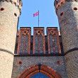 Friedrichsburg Gate - the old German Fort in the city of Koenigsberg. Kaliningrad (until 1946 Konigsberg), Russia — ストック写真