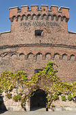 Wrangel Tower - fortified strengthening of Koenigsberg. Kaliningrad (until 1946 Konigsberg), Russia — Stock Photo