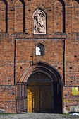 Church of St. George (Kirche Friedland) - Gothic temple of the 14th century — Stock Photo