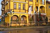 """Hotel """"Princess Elise"""". Zelenogradsk (until 1946 - Cranz), Kaliningrad oblast, Russia — Stock Photo"""
