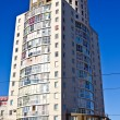 High-rise building with penthouse. Kaliningrad, Russia — Stock Photo
