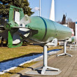 Soviet combined cycle torpedo 53-56B, rear view — Stock Photo