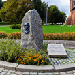 Постер, плакат: Monument to Julius Rupp Kaliningrad Russia