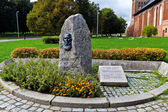 Monument to Julius Rupp. Kaliningrad, Russia — Stock Photo