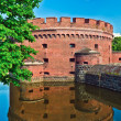 "Defensive tower Dona (german: ""Der Dohna"") Koenigsberg — Stock Photo"