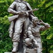 Memorial to Warrior - scout in Victory Park, Kaliningrad, Russia — Stock Photo #31979755