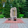 Monument to the lost employees of bodies of internal Affairs. Kaliningrad, Russia — Stock Photo