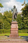 Monument to Emmanuel Kant. Kaliningrad (Koenigsberg before 1946), Russia — Stock Photo