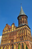 Koenigsberg Cathedral - Gothic Temple 14Th Century. Kaliningrad (until 1946 Koenigsberg), Russia — Foto Stock