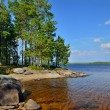 Lake Engozero. North Karelia, Russia — Stock Photo