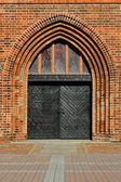 Koenigsberg Cathedral, main entrance — Stock fotografie