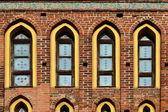 Koenigsberg Cathedral, facade fragment — Stock Photo
