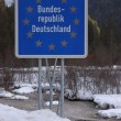 Border of Germany — Stock Photo #22466091