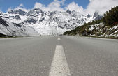 Alpine Road — Stock Photo