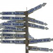 Signpost — Stock Photo #27672155