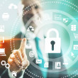 sicurezza Internet — Foto Stock