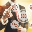 search engine optimization&quot — Stock Photo