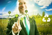 Green business concept — Stock Photo