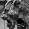 Mailboxes with lion head shaped the Post Office of Avila, Spain. — Stock Photo