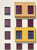 Multicolored windows. — Stock Photo