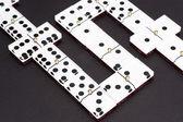 Domino nero — Foto Stock