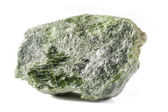 Chrome Diopside Mineral — Stock Photo