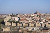 Wall of Avila, Spain. — Stock Photo