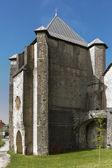 """""""San Agustin"""" Chapel. Roncesvalles. Spain. — Foto de Stock"""