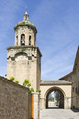 Church of the Crucifix. Puente la Reina, Navarra. Spain. — Stock Photo