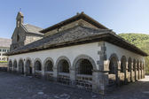 Sancti Spiritus Chapel in Roncesvalles. Spain. — Stockfoto